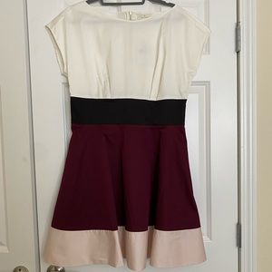 NWT Kate Spade Colorblock Fiorella Dress